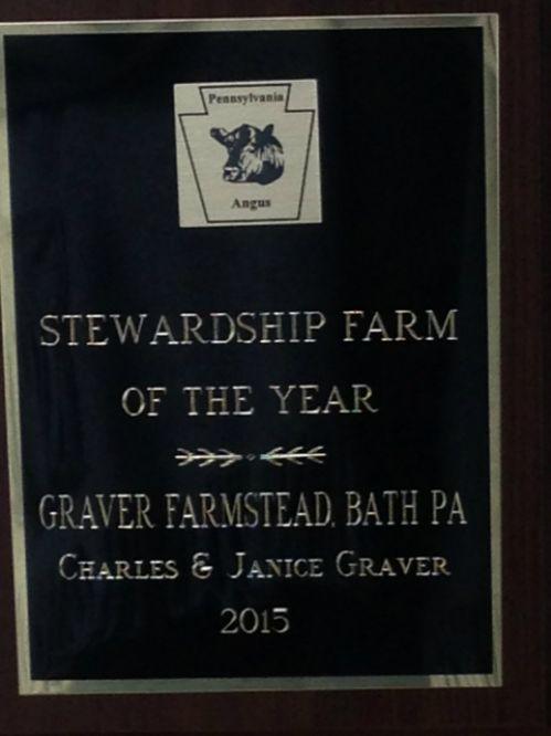 PA Angus 2015 Stewardship Farm of the Year